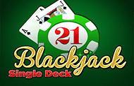 Играть в слот Single Deck Blackjack Professional Series